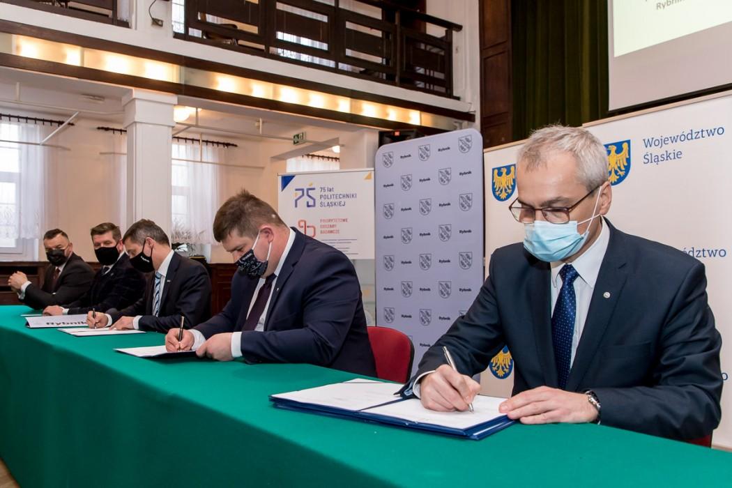 Podpisanie listu intencyjnego w sprawie utworzenia Centrum Projektowego Fraunhofera