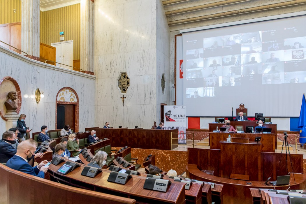 XXX sesji Sejmiku Województwa Śląskiego. fot. Tomasz Żak / UMWS