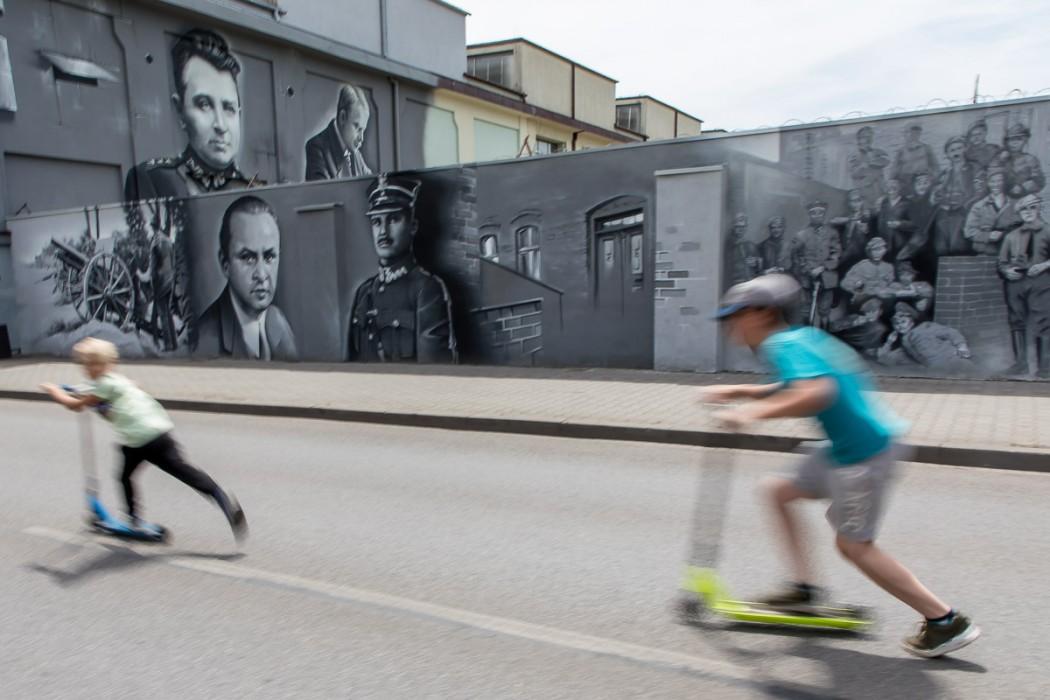 Zdjęcie do wiadomości: Mural na stulecie Powstań Śląskich