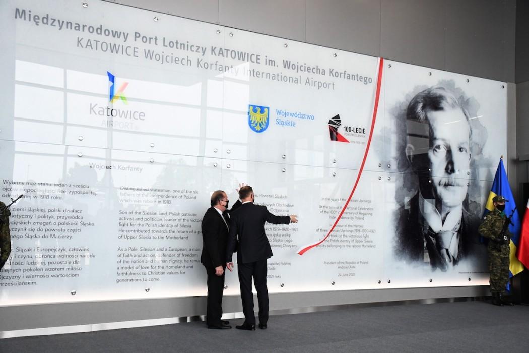 Zdjęcie do wiadomości: Wojciech Korfanty patronem lotniska w Pyrzowicach