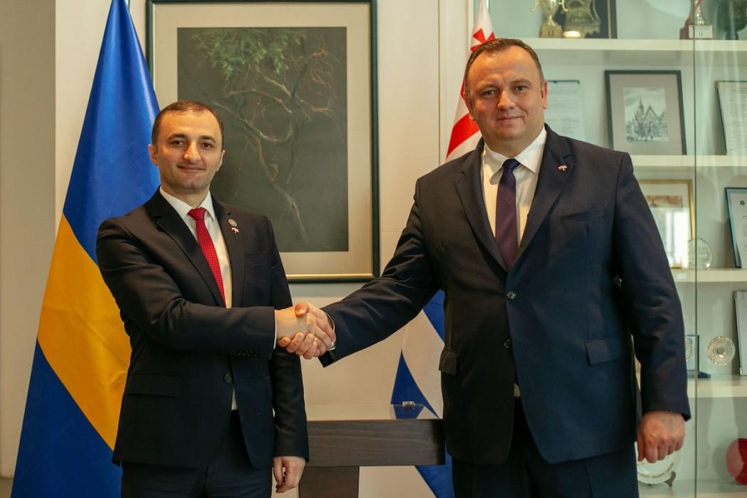 Zdjęcie do wiadomości: Gospodarcza misja w Gruzji