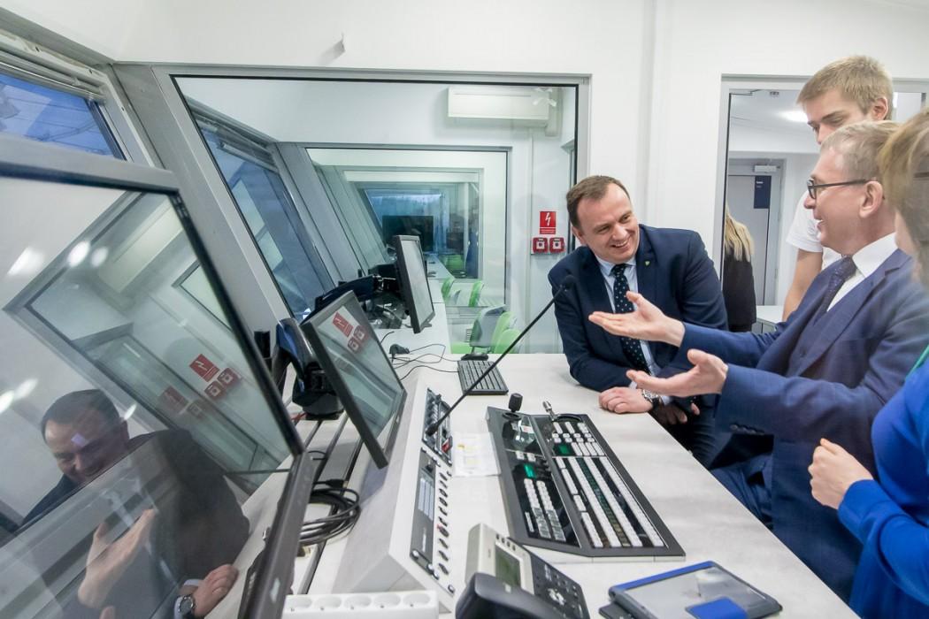 Przedstawiciele Komisji Europejskiej zwiedzili również Stadion Śląski / fot. Tomasz Żak / BP UMWS