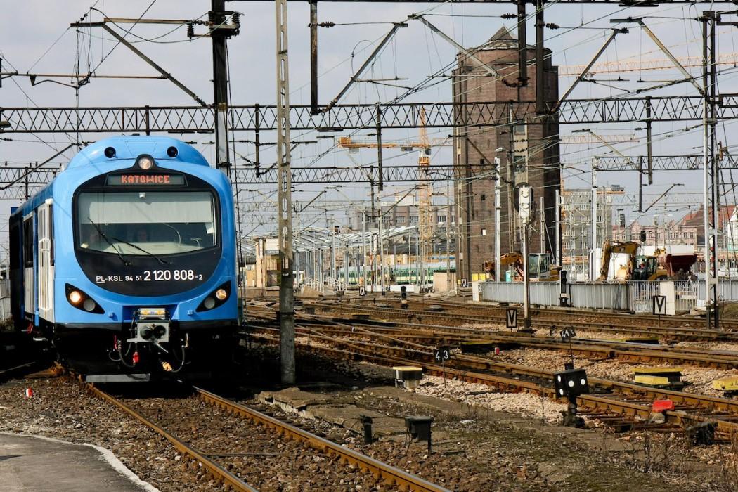 Infrastruktura kolejowa / fot. arch. UMWS Tomasz Żak