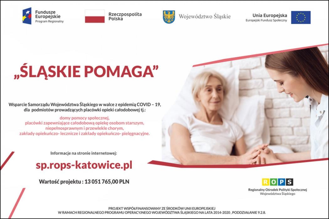 Śląskie pomaga / graf. ROPS