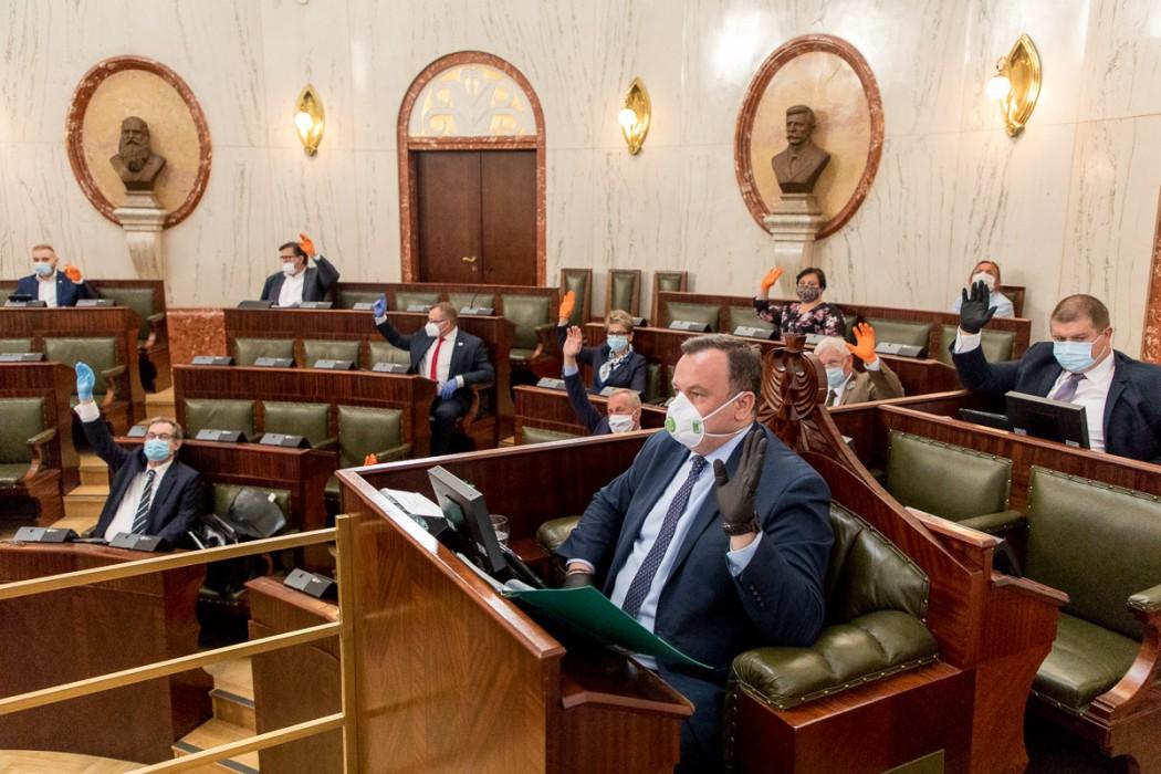Sesja Sejmiku Województwa Śląskiego  / fot. Tomasz Żak UMWS