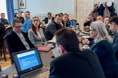 Posiedzenie Wojewódzkiej Rady Bezpieczeństwa Ruchu Drogowego