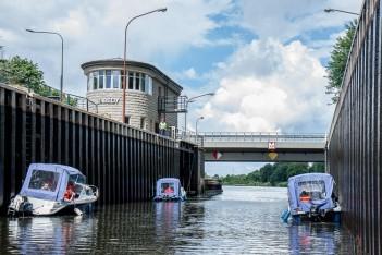 Śluza Łabędy na Kanale Gliwickim
