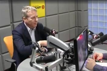 Marszałek Wojciech Saługa na antenie Radia Piekary