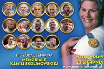 Medaliści Mistrzostw Europy w Berlinie na Memoriale Kamili Skolimowskiej