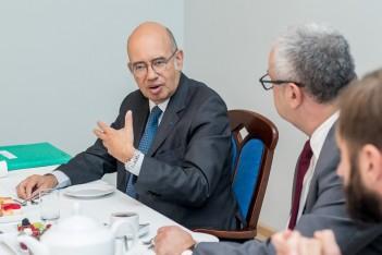 Wizyta ambasadora Francji