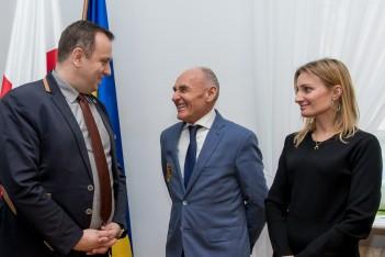 Spotkanie marszałka z Czesławem Langiem