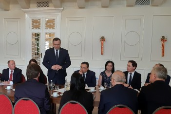 Spotkanie Konwentu Powiatów Województwa Śląskiego w Koszęcinie