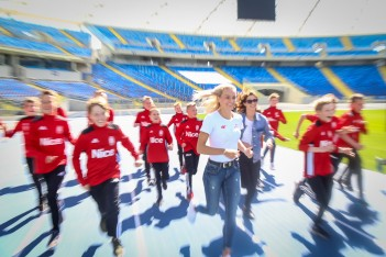 Gwiazdy lekkoatletyki ze Stadionem Śląskim