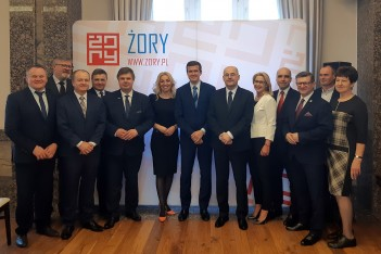 Minister Sportu i Turystyki w Żorach