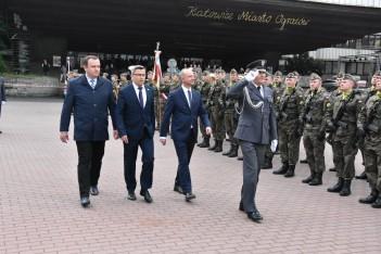Prezydencka flaga nad sercem śląskiej demokracji