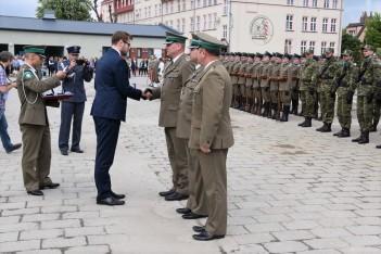 Obchody 28. rocznicy powstania Straży Granicznej