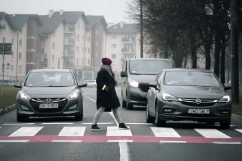 Akcja w ochronie pieszego