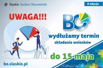 Dłuższy termin składania wniosków w tegorocznym Marszałkowskim Budżecie Obywatelskim. / graf. UMWS