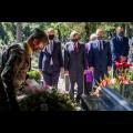 Uroczystości przy grobie Wojciecha Korfantego w Katowicach. fot. Tomasz Żak / UMWS