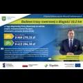 Podpisanie umowy na budowę trasy rowerowej w ciągu Regionalnej Trasy Rowerowej na Jurze. graf.  UMWS