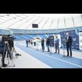 """Śląski Program """"Klub"""" - marszałek Jakub Chełstowski wręczył dotacje dla klubów sportowych."""