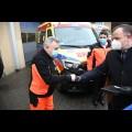 Cztery kolejne ambulanse trafiły do Wojewódzkiego Pogotowia Ratunkowego w Katowicach