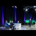 Konferencja online w studio TVP Katowice