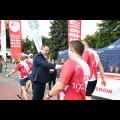Meta biegu, Park Śląski - Skwer 100-lecia Powstań Śląskich. fot. Patryk Pyrlik / UMWS