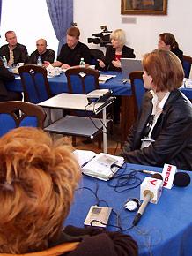 Konferencja prasowa poświęcona inauguracji w województwie śląskim Zintegrowanego Programu Operacyjnego Rozwoju Regionalnego