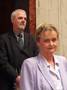 Gratulacje i życzenia od radnych Sejmiku przyjęła również Grażyna Staniszewska