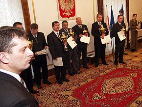 Gospodarzem spotkania był wicemarszałek Jan Grela