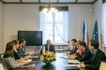 Narada z kierownictwem Gabinetu Marszałka