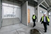 Wizyta na placu budowy Stadionu Śląskiego