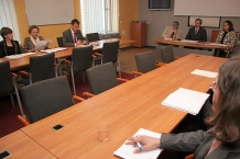 Spotkanie w Gmachu Sejmu Śląskiego poprzedziło konferencję nt. rynku pracy