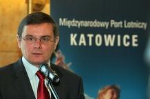 Minister Transportu Jerzy Polaczek