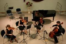Obrady zakończyły się koncertem uczniów rybnickiej szkoły muzycznej