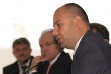 Wiceprezydent Katowic Arkadiusz Godlewski mówił o rozwoju miasta