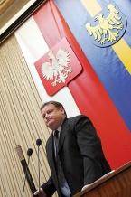 Obrady otworzył przewodniczący Sejmiku Piotr Zienc