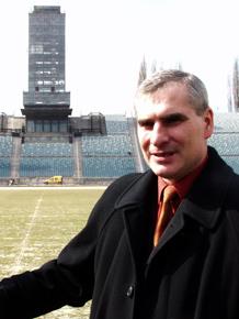 Trener piłkarskiej reprezentacji Polski Paweł Janas