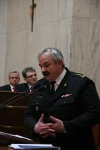 Sytuację w województwie w zakresie bezpieczeństwa przeciwpożarowego omówił Komendant Wojewódzki PSP st. bryg. Marek Rączka