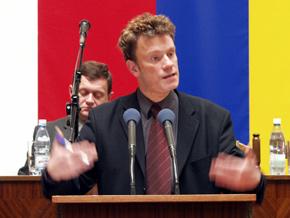 Piotr Żuber - dyrektor Departamentu Koordynacji Polityki Strukturalnej w MGPiPS