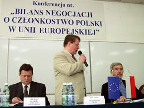 Spotkanie prowadził Prezes Agencji Rozwoju Lokalnego Jan Szot
