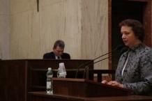 oraz burmistrz Kuźni Raciborskiej Rita Serafin