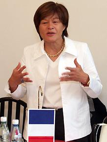 Martine Filleul – Wiceprzewodnicząca Rady Regionalnej  Nord-Pas de Calais
