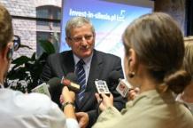Dyrektor wydziału gospodarki Urzędu Marszałkowskiego Tadeusz Adamski