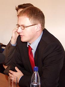 Krzysztof Krystowski, podsekretarz Stanu w Ministerstwie Gospodarki, Pracy i Polityki Społecznej