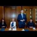 Podpisanie porozumienie o partnerstwie na rzecz rozwoju Społecznego Ośrodka Readaptacyjnego w Zabrzu  / fot. BP Tomasz Żak