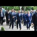 Złożenie wieńców na grobach W. Korfantego, J. Rymera i K. Wolnego / fot. BP Patryk Pyrlik
