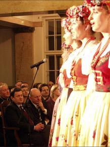 W spotkaniu uczestniczył m.in marszałek Michał Czarski oraz senator Adam Graczyński