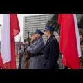 Złożenia kwiatów pod Pomnikiem Powstańców Śląskich w Katowicach / fot. Tomasz Żak / UMWS